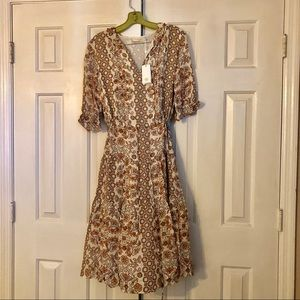 NWT Tory Burch Serena Dress Size 2 to 4